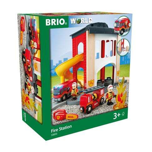 Brio große Feuerwehr Station