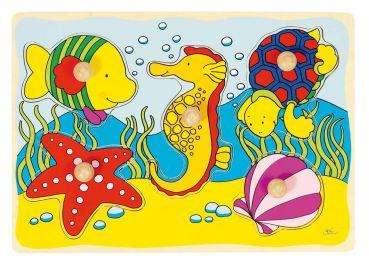 Greif-Puzzle Seepferdchen