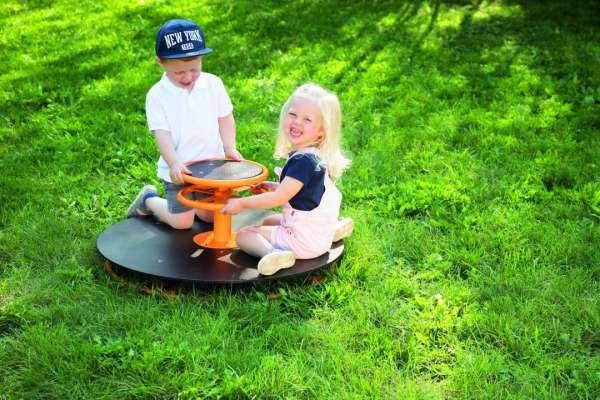 Toptrike Karussell für bis zu 4 Kindern - KiTa-Spielewelt