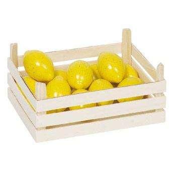 Zitronen Obstkiste Kaufladen- Zubehör
