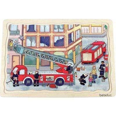Feuerwehr Lagenpuzzle