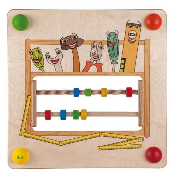 Babypfad Werkzeugkiste - Wandspiel