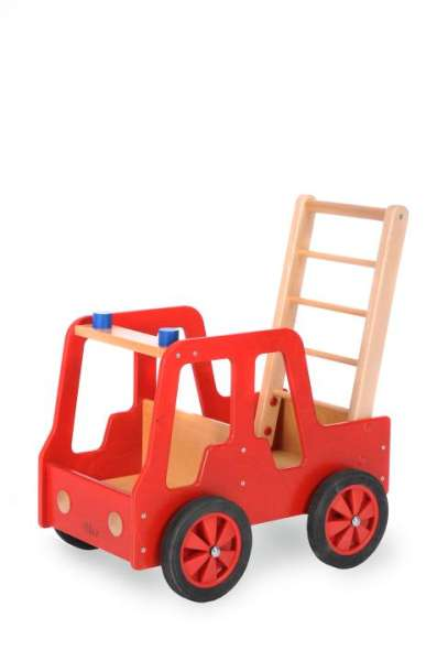 Feuerwehrauto für Kinder, Holz