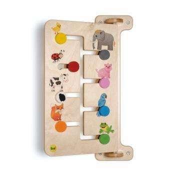 Wandspiel - Schiebespiel Tiere