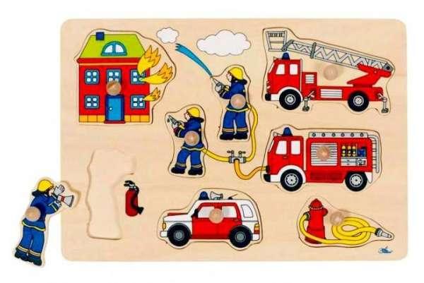 Greif-Puzzle Feuerwehr Goki