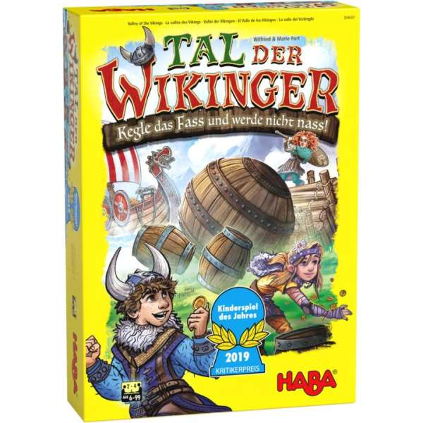 Haba - Das Tal der Wikinger - Das Spiel des Jahres 2019
