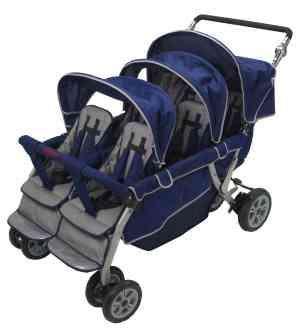 Krippensportwagen für 6 Kinder