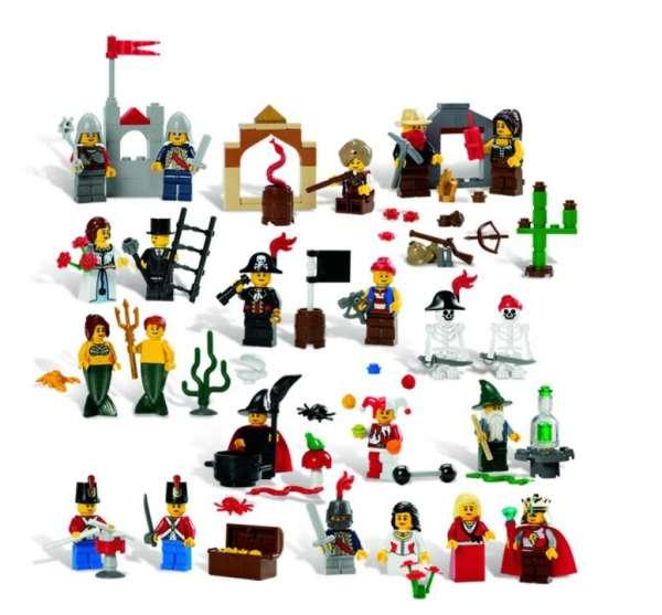 LEGO Märchen und historische Figuren Set 227 Teile